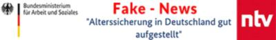 Brief: Fake news aus dem Alterssicherungsbericht
